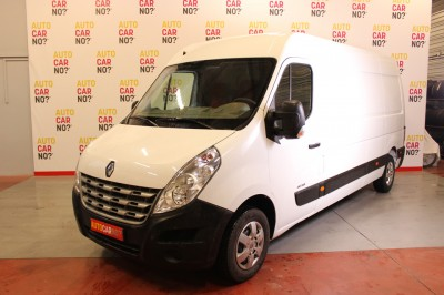 Photo occasion RENAULT Master L3H2 DCI 125 Grand Confort Blanc Diesel