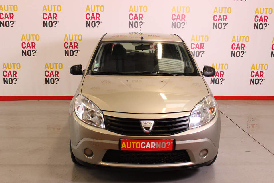 occasion dacia sandero ambiance dci 70 beige diesel nimes. Black Bedroom Furniture Sets. Home Design Ideas