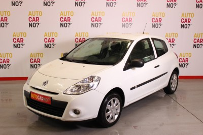 Photo occasion RENAULT Clio III Societe Air 1.5 Dci 70 Blanc Diesel 3/4