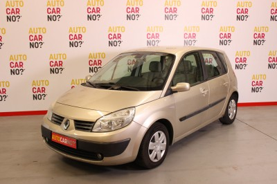 Photo occasion RENAULT Scenic II 1.5 Dci 105 Confort Expression Beige Diesel 3/4
