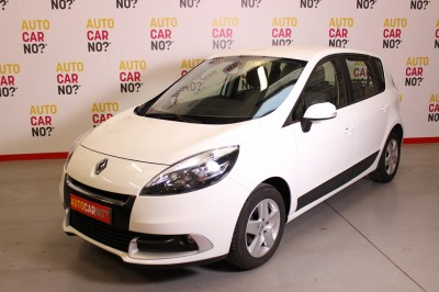 Photo occasion RENAULT Scenic III 1.5 DCI 110 FAP BUSINESS EURO5 Blanc Diesel