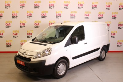 Photo occasion CITROEN Jumpy II FOURGON TOLE 1000 L1H1 HDI 90 BUSINESS Blanc Diesel