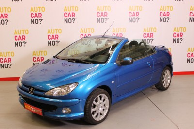 Photo occasion PEUGEOT 206 CC 1.6 HDI 110 SPORT PACK Bleu Diesel