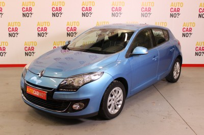 Photo occasion RENAULT Megane III 1.6 DCI 130 ENERGY FAP DYNAMIQUE ECO2 Bleu Diesel