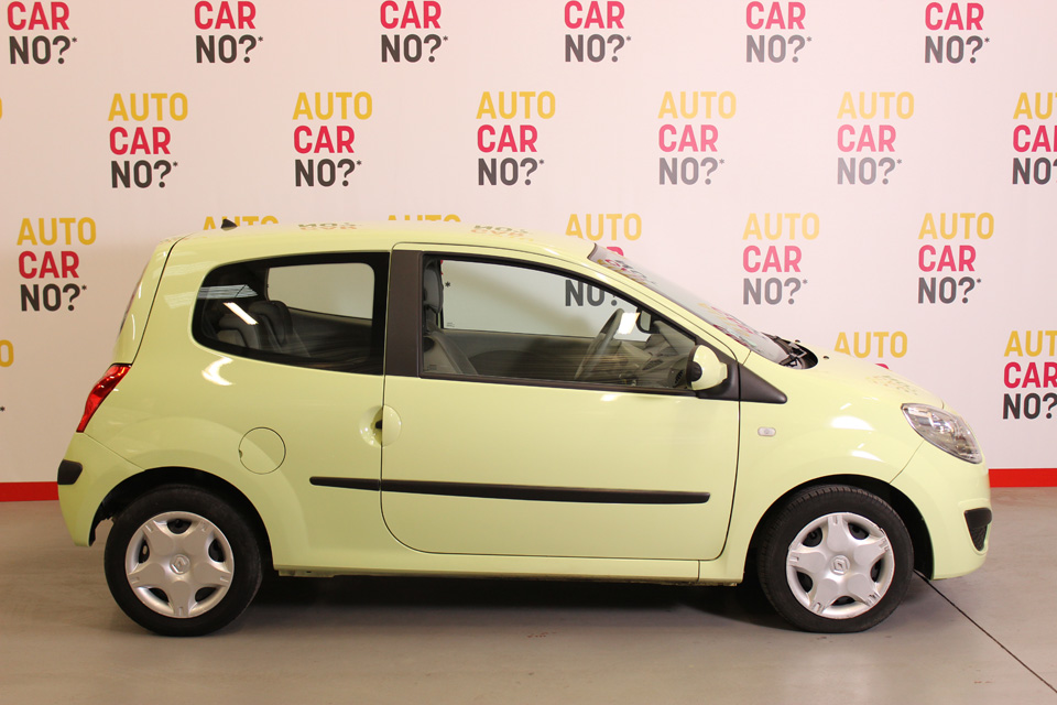 occasion renault twingo ii 1 5 dci 65 trend jaune diesel. Black Bedroom Furniture Sets. Home Design Ideas