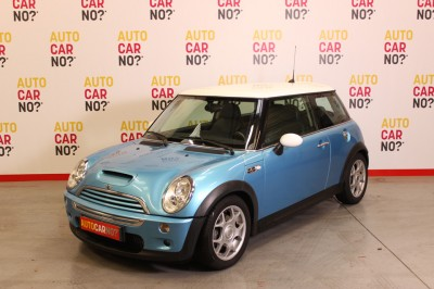 Photo occasion MINI Mini 1.6 170 COOPER S Bleu Essence
