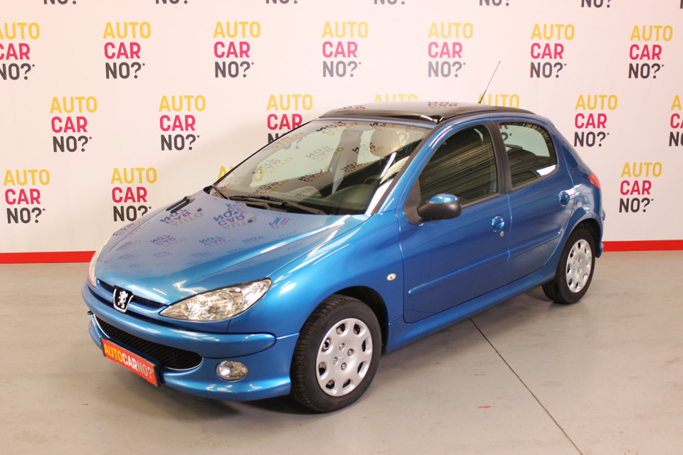 occasion peugeot 206 1 4 hdi 70 style 5p bleu clair diesel. Black Bedroom Furniture Sets. Home Design Ideas