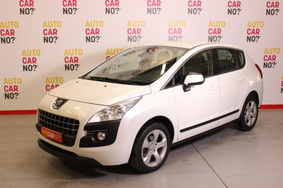 Photo occasion PEUGEOT 3008 1.6 HDI 112 FAP ACTIVE Blanc Diesel
