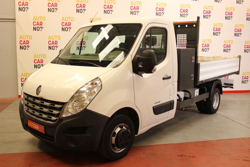 occasion renault master 3 l3 benne dci 125 grand confort blanc diesel montpellier 8031 auto. Black Bedroom Furniture Sets. Home Design Ideas