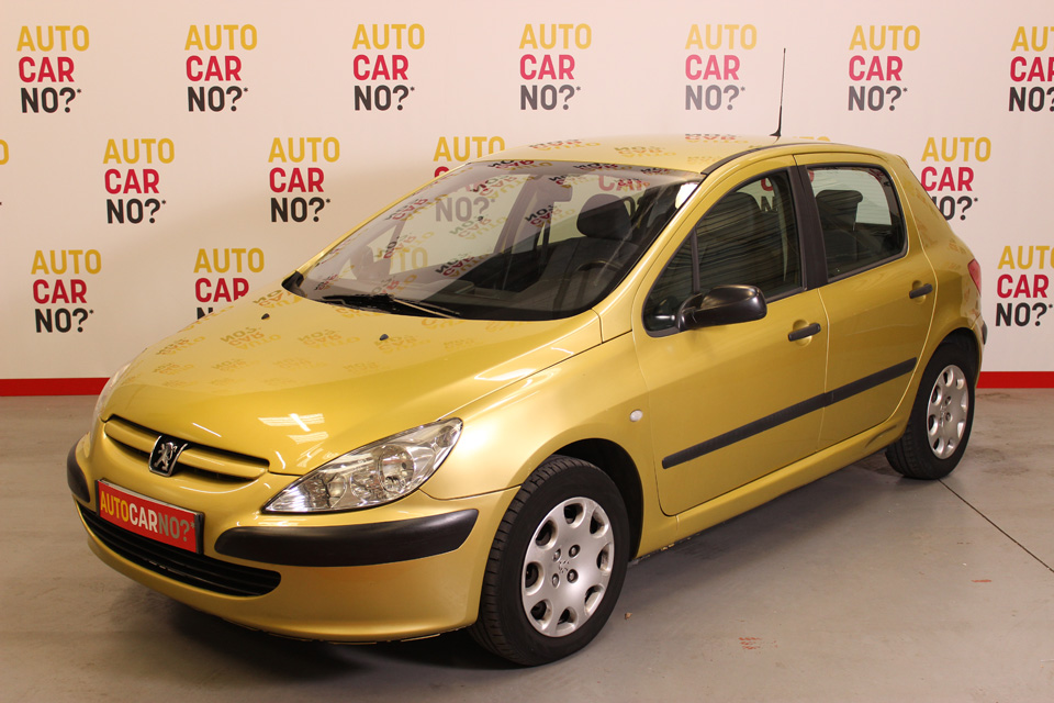 occasion peugeot 307 2 0 hdi90 xr presence 5p jaune diesel. Black Bedroom Furniture Sets. Home Design Ideas