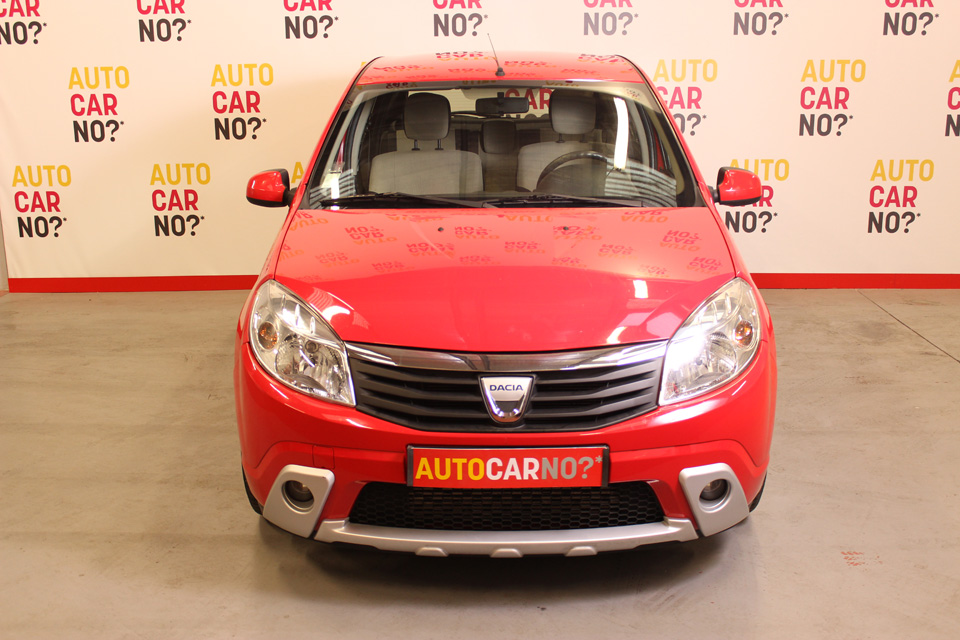occasion dacia sandero 1 5 dci 85 prestige rouge diesel. Black Bedroom Furniture Sets. Home Design Ideas