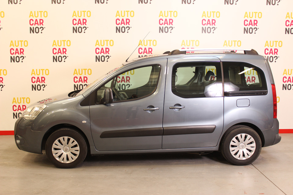 occasion citroen berlingo 2 1 6 hdi 92 multispace gris