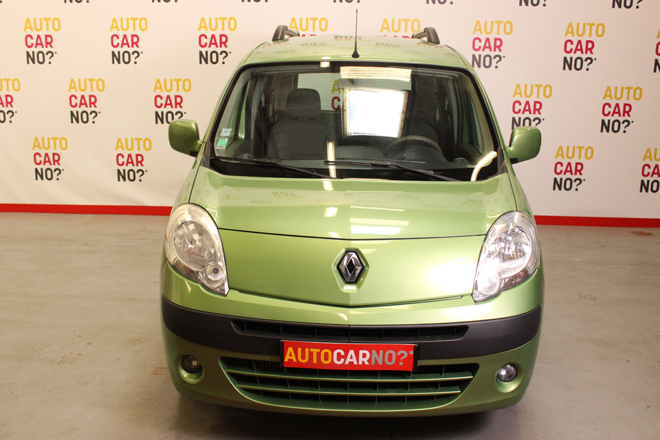 occasion renault kangoo 2 1 5 dci 85 privilege vert diesel. Black Bedroom Furniture Sets. Home Design Ideas