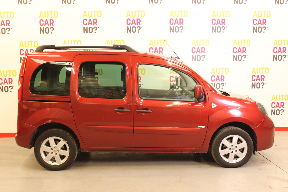 occasion renault kangoo 2 1 5 dci 85 tomtom edition rouge. Black Bedroom Furniture Sets. Home Design Ideas