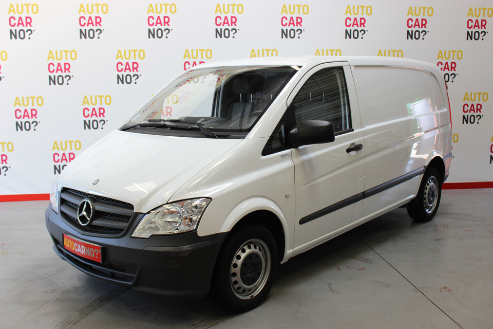 occasion mercedes vito fourgon compact 110 cdi 2t8 blanc. Black Bedroom Furniture Sets. Home Design Ideas
