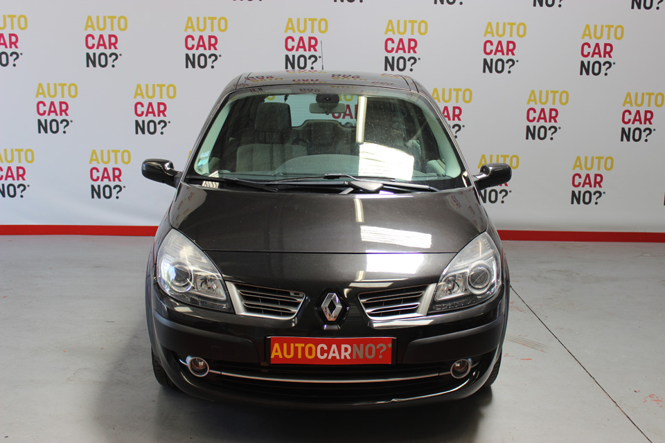 occasion renault scenic 2 1 5 dci 105 latitude noir diesel. Black Bedroom Furniture Sets. Home Design Ideas
