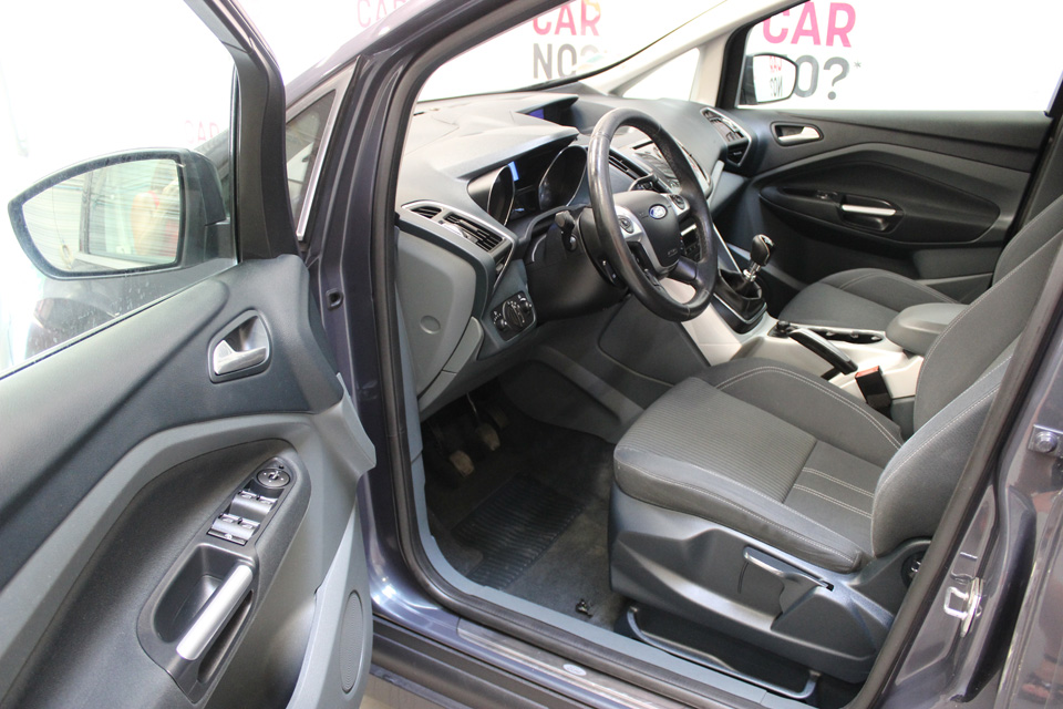 occasion ford c max 2 1 6 tdci 115 fap titanium bvm6 gris. Black Bedroom Furniture Sets. Home Design Ideas