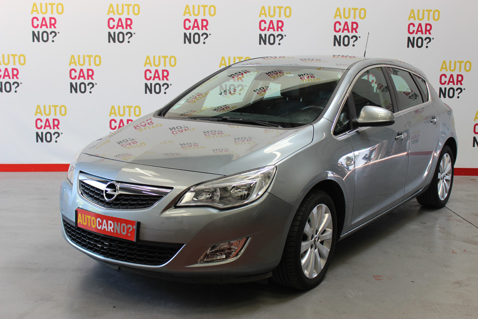 occasion opel astra 4 1 4 turbo 140 cosmo gris essence. Black Bedroom Furniture Sets. Home Design Ideas