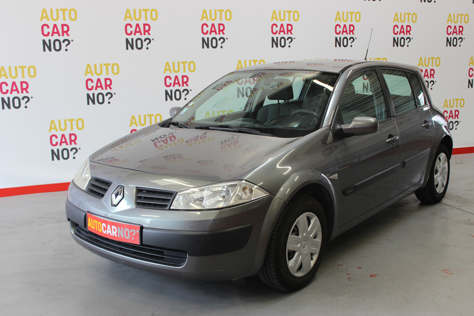 occasion renault megane 2 1 5 dci 80 pack authentique gris