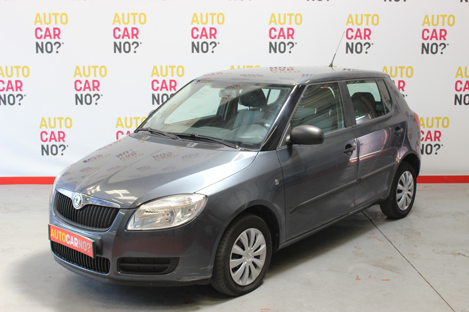 occasion skoda fabia 2 1 4 tdi 80 classic gris diesel. Black Bedroom Furniture Sets. Home Design Ideas