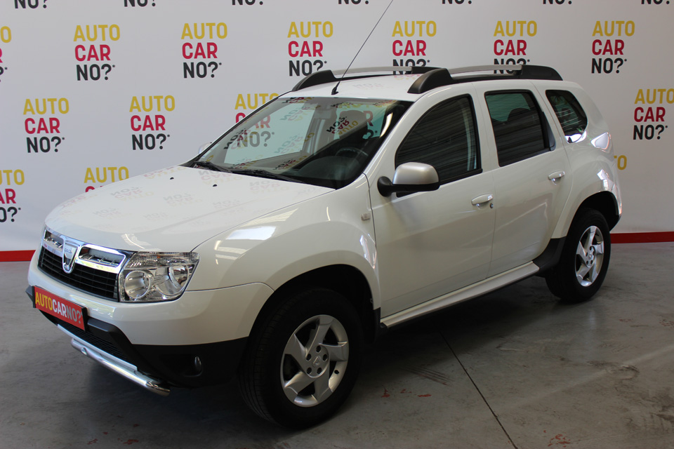 occasion dacia duster 1 5 dci 85 4x2 laureate blanc diesel. Black Bedroom Furniture Sets. Home Design Ideas