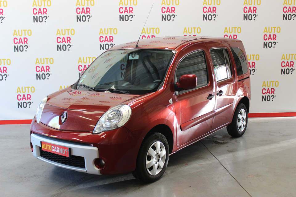 occasion renault kangoo 2 1 5 dci 85 privilege rouge. Black Bedroom Furniture Sets. Home Design Ideas