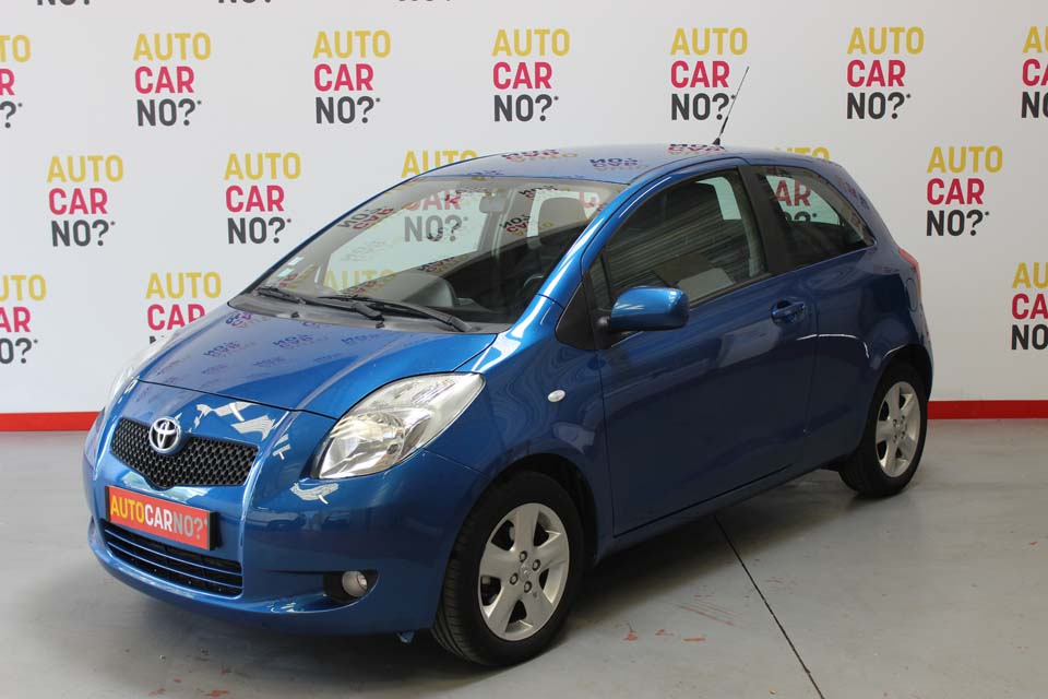 occasion toyota yaris 2 87 vvt i sol multimode 3p bleu essence al s 8370 auto car no