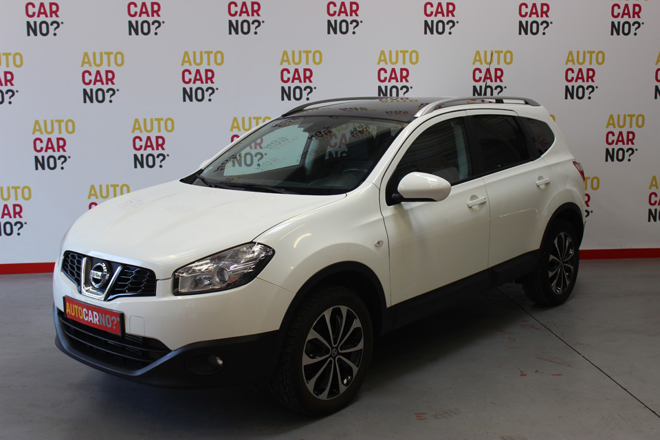 occasion nissan qashqai 2 1 5 dci 110 fap connect edition blanc diesel al s 8427 auto car no
