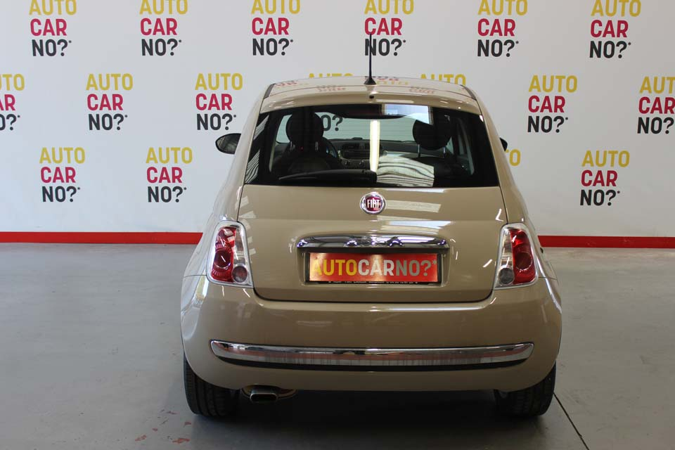 occasion fiat 500 1 2 8v 69 lounge beige essence nimes 8458 auto car no. Black Bedroom Furniture Sets. Home Design Ideas