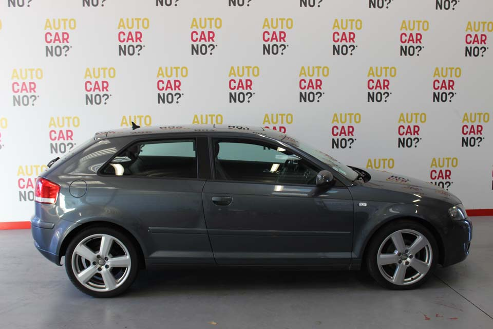 occasion audi a3 2 0 tdi 140 ambition luxe s tronic gris. Black Bedroom Furniture Sets. Home Design Ideas