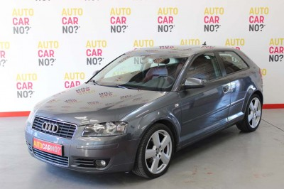 Voiture occasion AUDI A3 2.0 TDI 140 AMBITION LUXE S TRONIC GRIS Diesel Nimes Gard