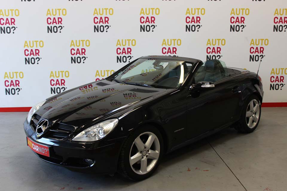 occasion mercedes slk 2 200 k bva noir essence nimes 8493 auto car no. Black Bedroom Furniture Sets. Home Design Ideas