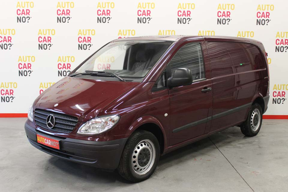 occasion mercedes vito fourgon compact 109 cdi 2t7 rouge diesel nimes nos v hicules. Black Bedroom Furniture Sets. Home Design Ideas