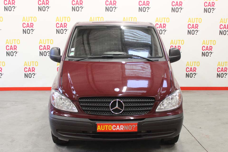occasion mercedes vito fourgon compact 109 cdi 2t7 rouge. Black Bedroom Furniture Sets. Home Design Ideas