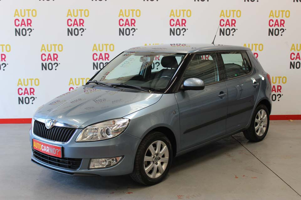 occasion skoda fabia 2 1 6 tdi 90 cr ambition gris diesel. Black Bedroom Furniture Sets. Home Design Ideas