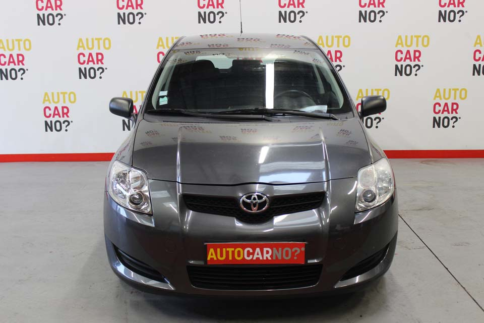occasion toyota auris 90 d 4d linea terra 5p gris diesel. Black Bedroom Furniture Sets. Home Design Ideas
