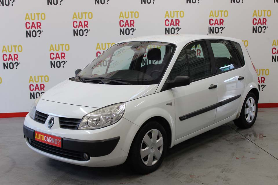 occasion renault scenic 2 1 9 dci 120 confort authentique blanc diesel nimes 8560 auto car no
