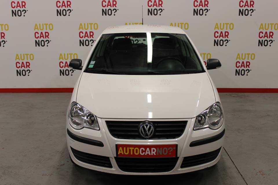 occasion volkswagen polo 4 1 4 tdi 70 3p blanc diesel. Black Bedroom Furniture Sets. Home Design Ideas