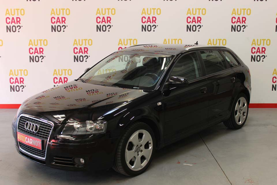 occasion audi a3 sportback 2 0 tdi 140 ambition noir. Black Bedroom Furniture Sets. Home Design Ideas