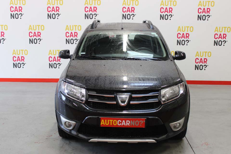 occasion dacia sandero 2 stepway 1 5 dci 90 prestige e6 noir diesel al s nos berlines d. Black Bedroom Furniture Sets. Home Design Ideas