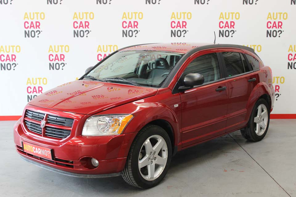 occasion dodge caliber 2 0 crd 140 sxt bv6 rouge diesel. Black Bedroom Furniture Sets. Home Design Ideas