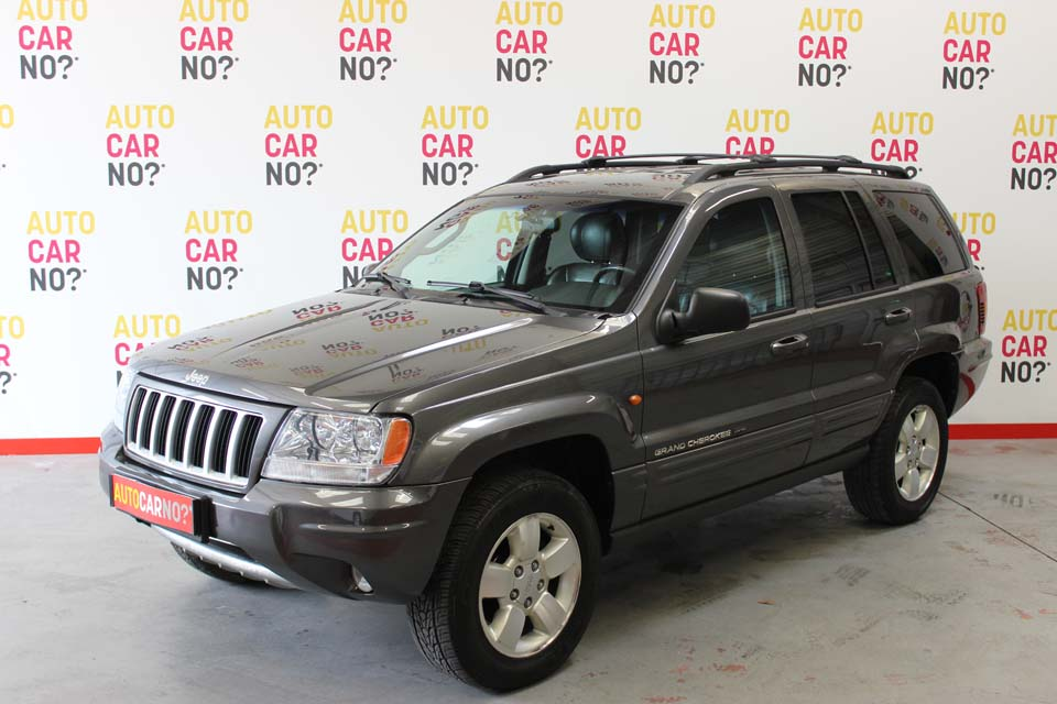 occasion jeep grand cherokee 2 7 crd limited bva gris