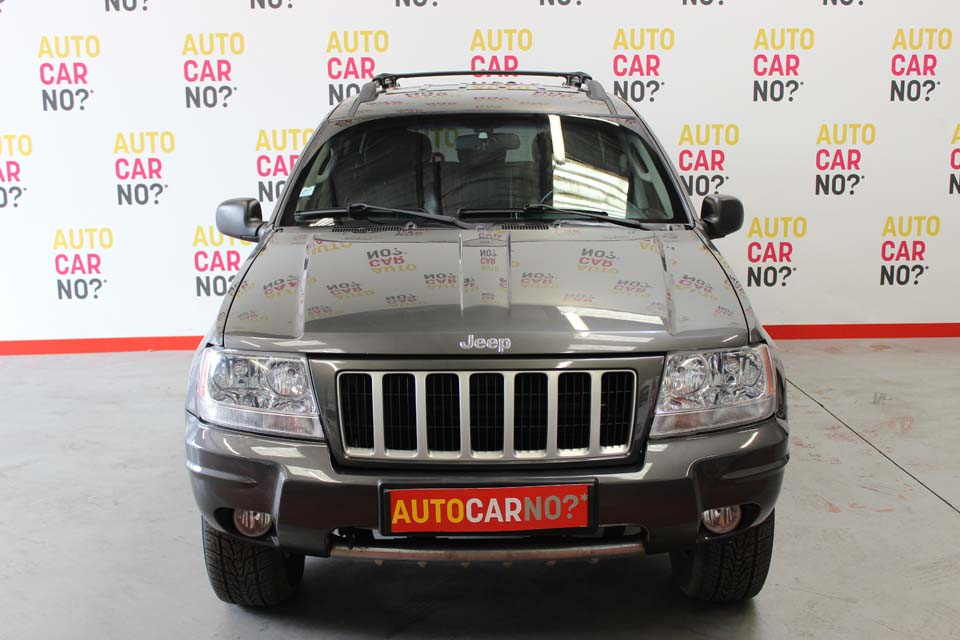 occasion jeep grand cherokee 2 7 crd limited bva gris. Black Bedroom Furniture Sets. Home Design Ideas
