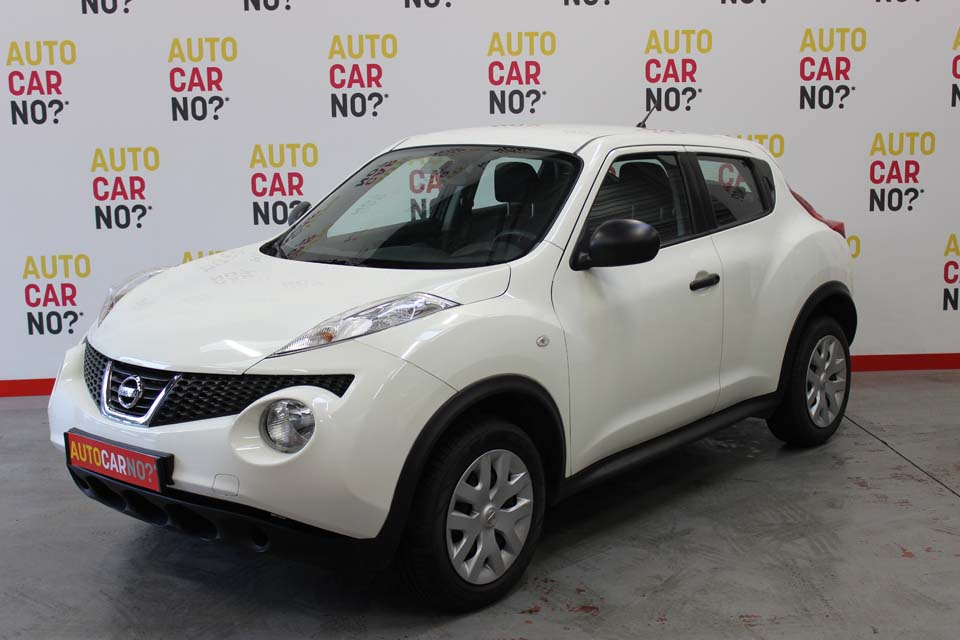 occasion nissan juke 1 6 e 117 6cv visia blanc essence montpellier 8744 auto car no. Black Bedroom Furniture Sets. Home Design Ideas