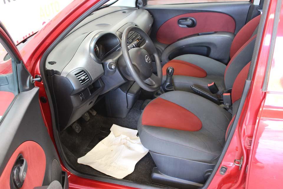 occasion nissan micra 3 1 2 65 visia pack 5p rouge essence al s 8759 auto car no. Black Bedroom Furniture Sets. Home Design Ideas
