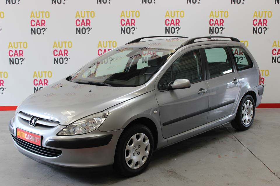 occasion peugeot 307 break 1 6 hdi 110 xt gris diesel nimes 8782 auto car no