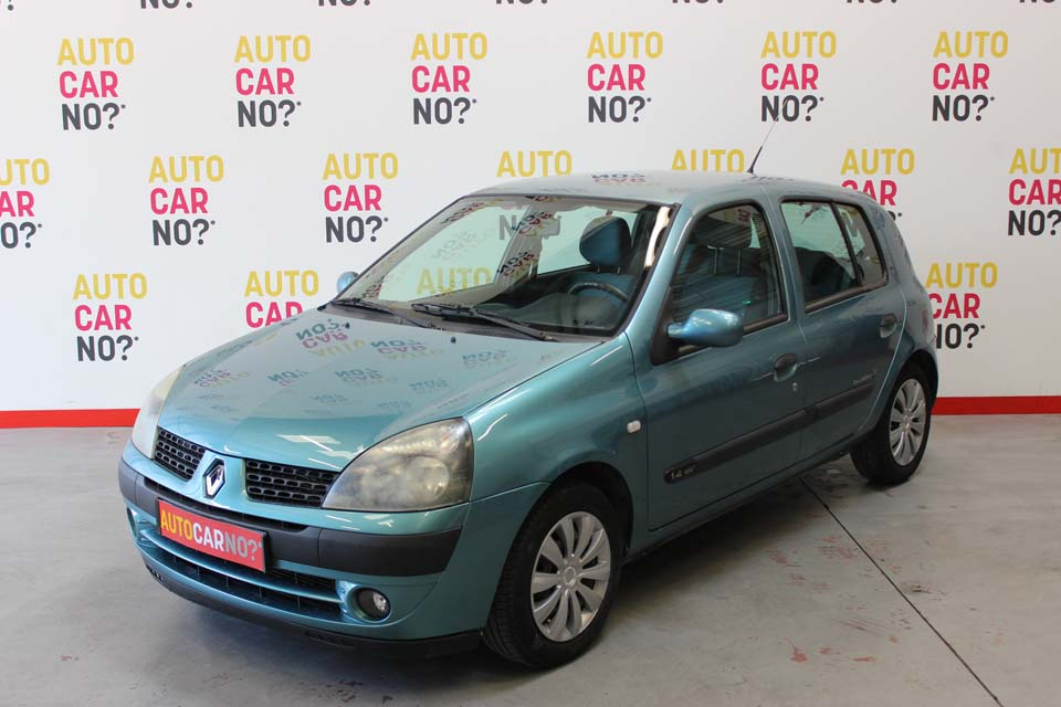 occasion renault clio 2 1 4 16s billabong 5p bleu essence avignon 8776 auto car no
