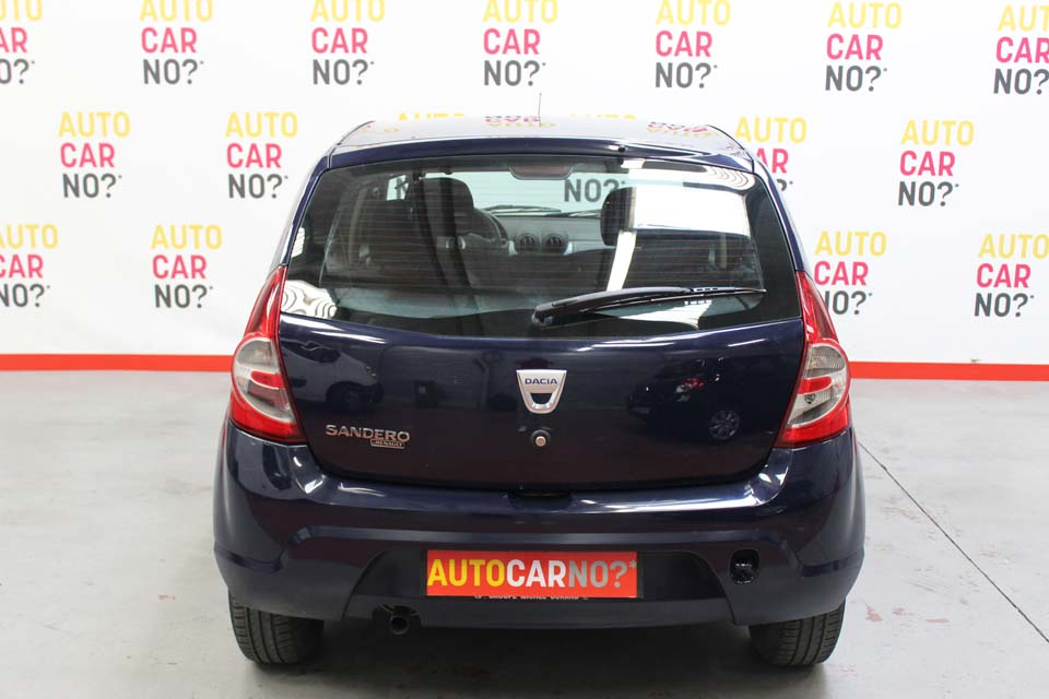 occasion dacia sandero 1 4 mpi 72 gpl ambiance bleu. Black Bedroom Furniture Sets. Home Design Ideas