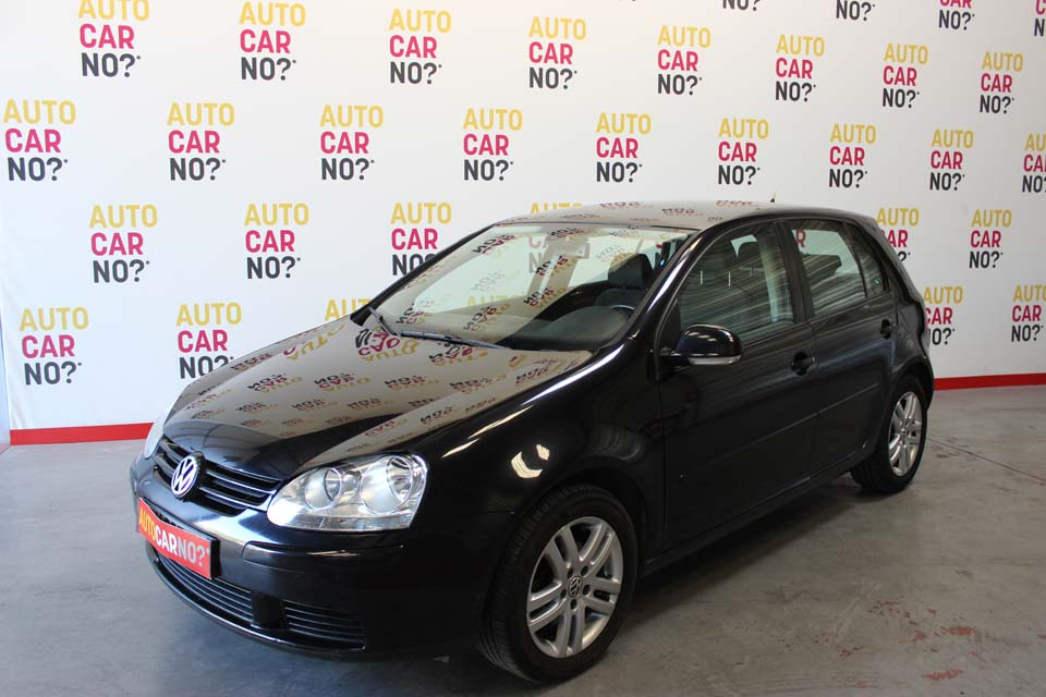 occasion volkswagen golf 5 1 9 tdi confortline 5p noir. Black Bedroom Furniture Sets. Home Design Ideas
