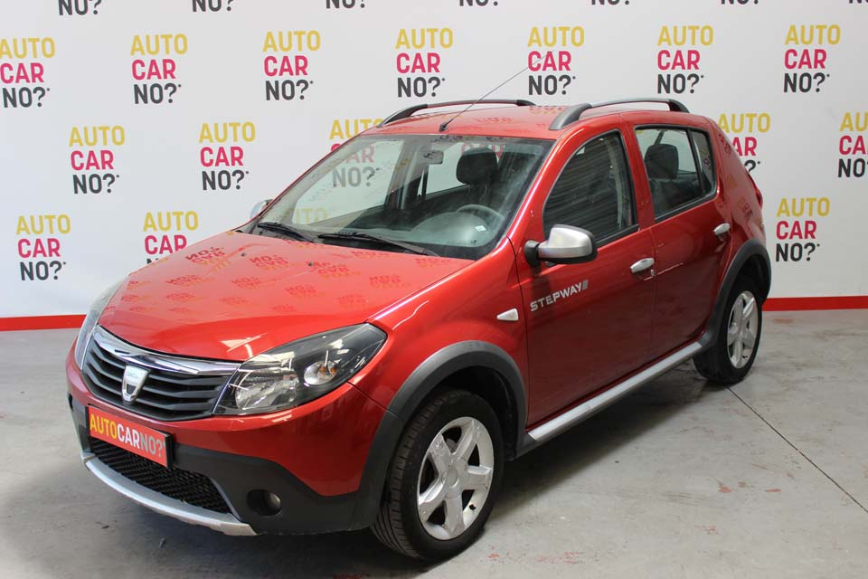 occasion dacia sandero stepway 1 5 dci 70 rouge diesel. Black Bedroom Furniture Sets. Home Design Ideas